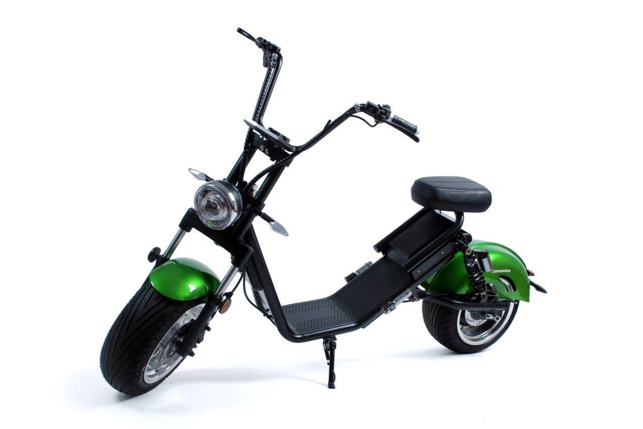 Nitro scooters Futura 3000 Plus - zelená metalíza